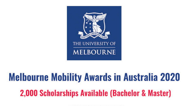 ทุนMelbourne Mobility Awards