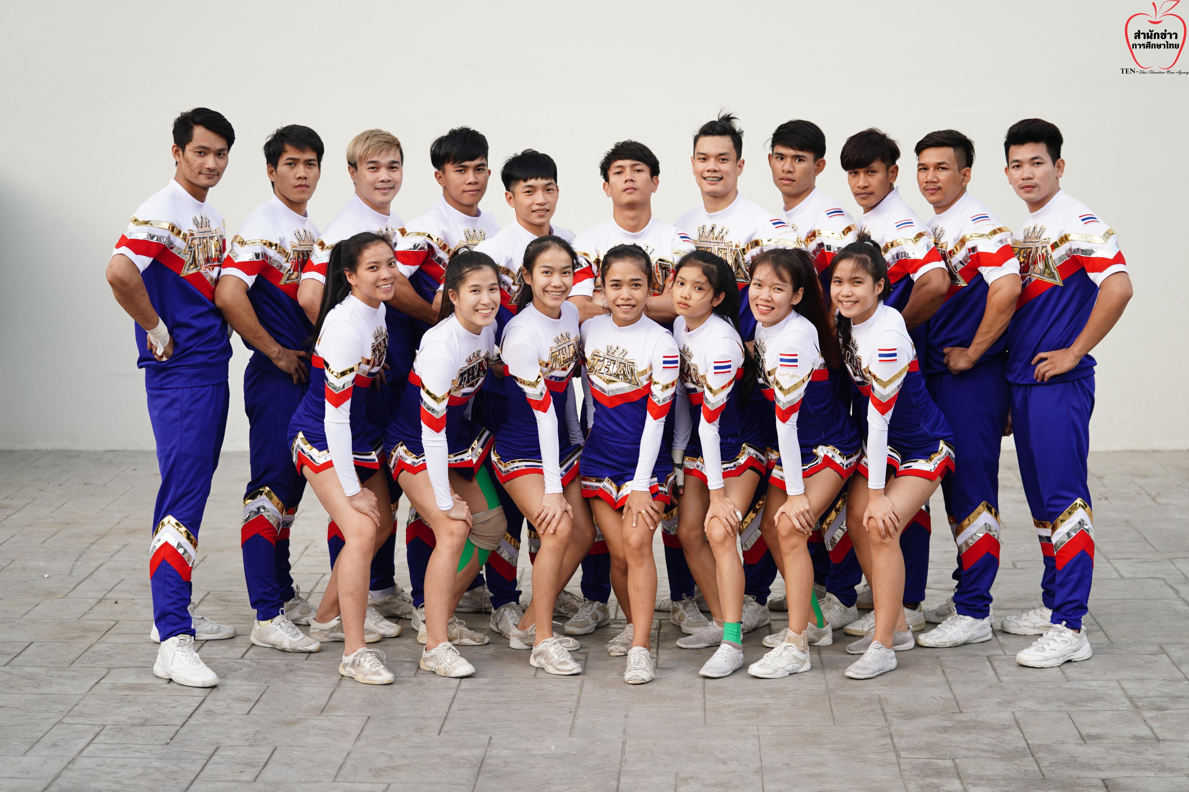 """""""ทีมเชียร์ลีดดิ้งไทย"""" บุกญี่ปุ่นขน 12 ทีมลงแข่งฯ ป้องกันแชมป์โลก"""