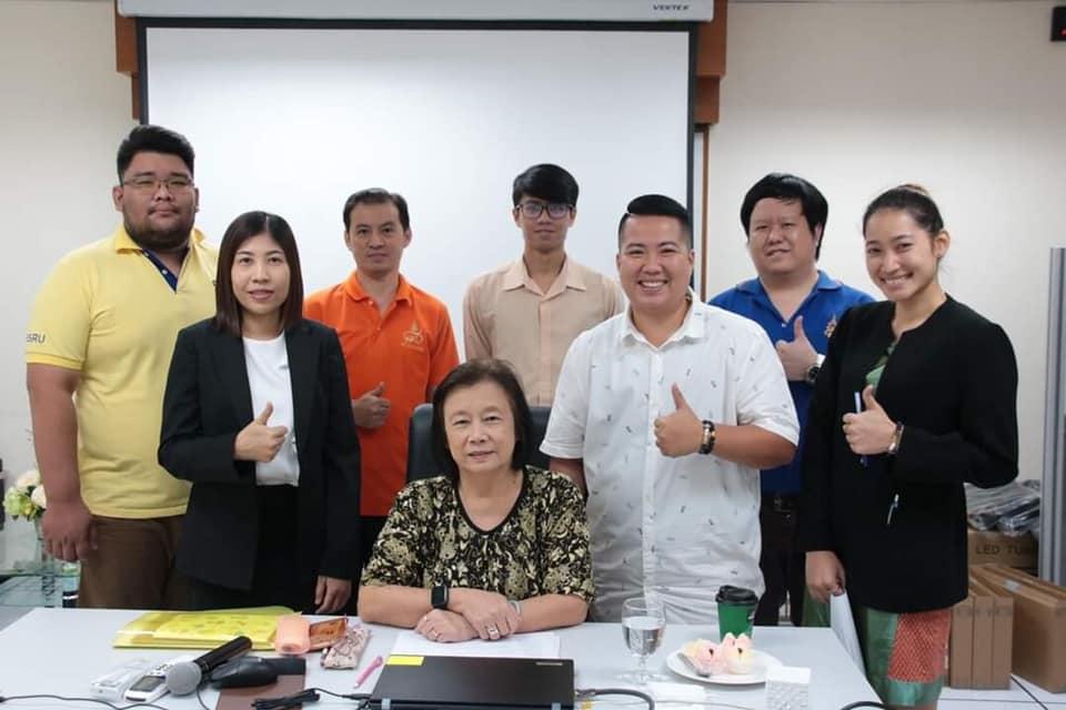 จีอี สวนสุนันทา-ฝ่ายวิจัยและพัฒนานวัตกรรมการจัดการเรียนรู้ แลกเปลี่ยนเรียนรู้ กลุ่ม KM