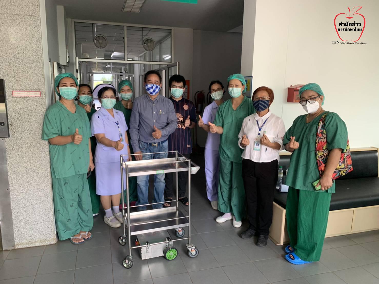 อาชีวะ ใช้นวัตกรรม ประดิษฐ์อุปกรณ์มาตรฐาน ช่วยเซฟบุคลากรทางการแพทย์